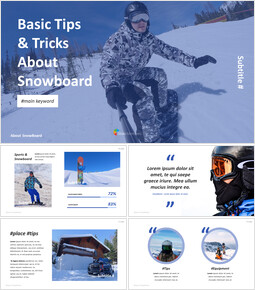 Basic Tips & Tricks About Snowboard PPT Design Templates_00