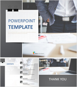 Behind the Desk - Free Professional Google Slides Templates_00