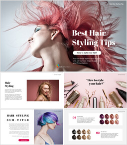 Best Hair Styling Tips PowerPoint Format_00
