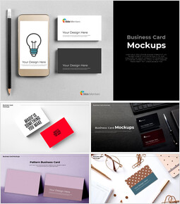 Business Card Mockups Google Slides for mac_00