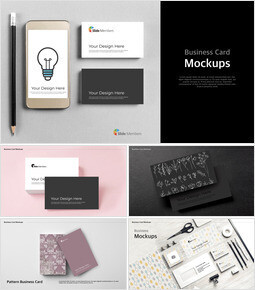 Business Card Mockups Keynote Examples_00