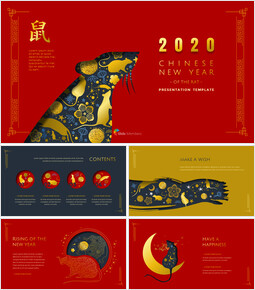 Chinese New Year PowerPoint Presentation Slides_00