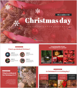 Christmas Day Simple Slides Templates_00