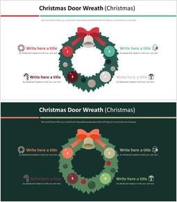 Christmas Door Wreath Diagram (Christmas)_2 slides