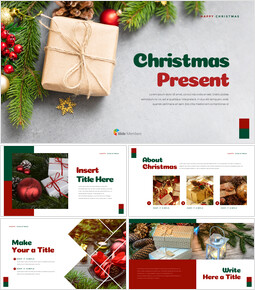 Christmas Present PowerPoint Business Templates_00