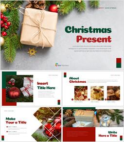 크리스마스 선물 파워포인트 비즈니스 템플릿_00