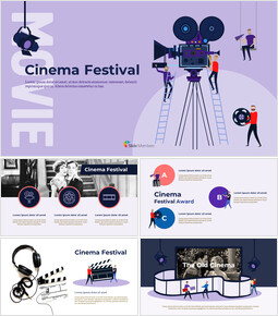Cinema Festival Simple Slides Design_00