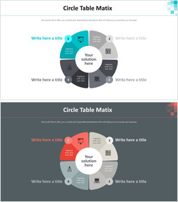 Circle Table Matix Diagram_00
