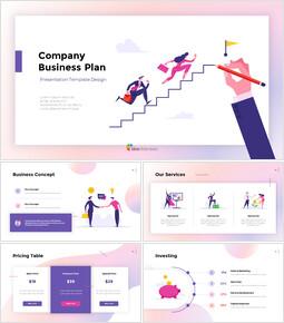 회사 사업 계획 보고서 Google 프레젠테이션_00