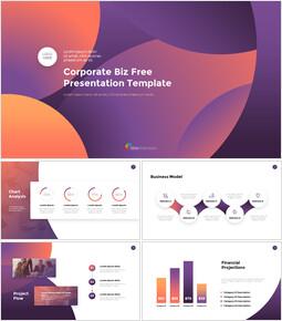 기업 비즈니스 템플릿 프레젠테이션을 위한 구글슬라이드 템플릿_00