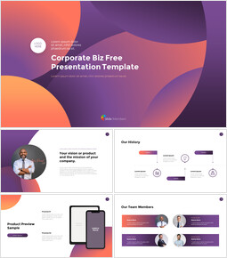 Corporate Biz Template Startup PPT Templates_00