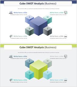 Cube SWOT Analysis Diagram (Business)_00