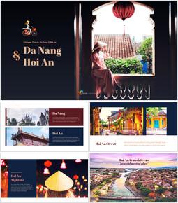 다낭 & 호이안 베트남 비즈니스 사업 템플릿 PPT_00