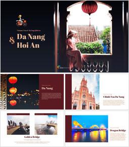 다낭 & 호이안 베트남 Google 피피티 템플릿_00