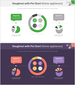 Doughnut with Pie Chart (Home appliances)_00
