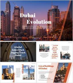 Dubai Evolution Google Slides for mac_00