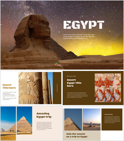 EGYPT Simple Presentation Google Slides Template_00