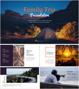 가족 여행 편집이 쉬운 Google 슬라이드_00