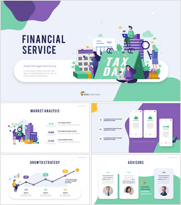Financial Service Group Design Slides Business Presentations_00