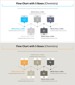 Flow Chart with 5 Boxes Diagram (Chemistry)_00