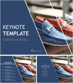 Free Keynote Backgrounds - a shoe store_00