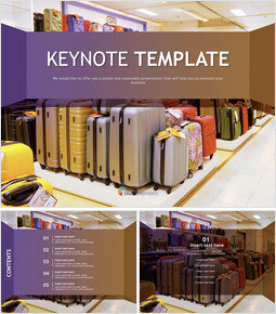Free Keynote Templates - suitcase_00