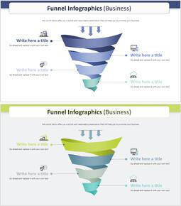 Diagramma infografica imbuto (affari)_00