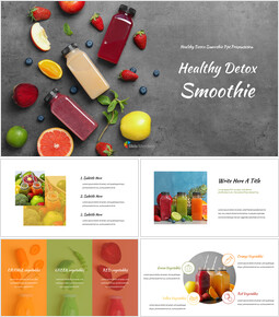Healthy Detox Smoothie Easy Slides Design_00