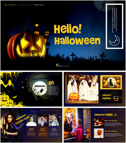 Hello! Halloween PowerPoint Slides_00