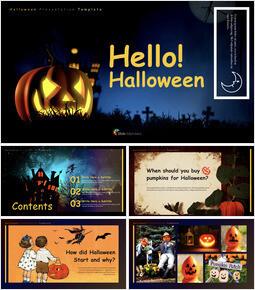 Hello! Halloween PowerPoint to Keynote_00