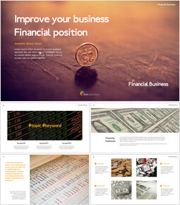 Improve your business financial position Theme Templates_00