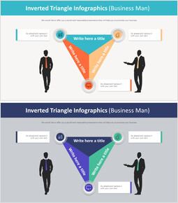 Inverted Triangle Infographics Diagram (Business Man)_00
