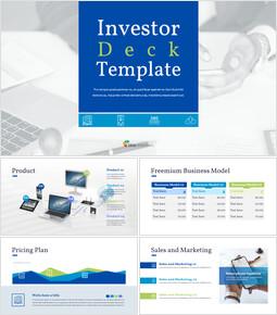 投資家用資料テンプレート シンプルなGoogleプレゼンテーション_00