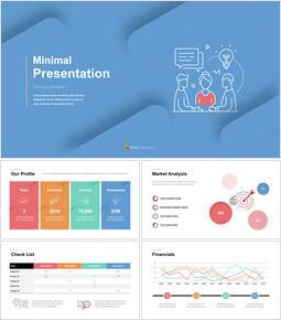Icona linea presentazione minima Creative Keynote_00