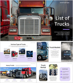 List of Trucks Best Google Slides_00