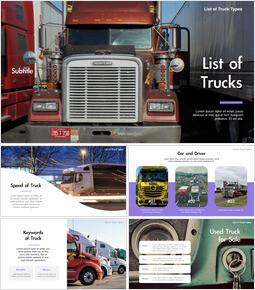 List of Trucks Keynote for Microsoft_40 slides