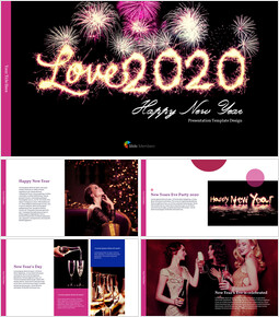Love 2020 PowerPoint Templates for Presentation_00