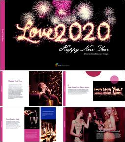 Love 2020 프레젠테이션용 PowerPoint 템플릿_00