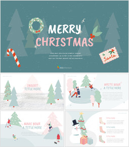 Merry Christmas Best Google Slides_00