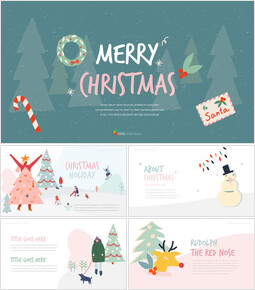 Merry Christmas Best PowerPoint Presentations_00