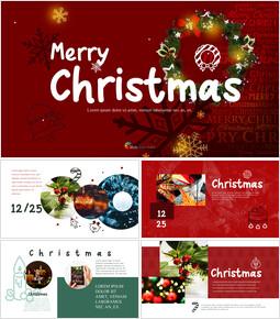 메리 크리스마스 간단한 디자인 템플릿_00