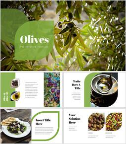 Olives Presentation Design_40 slides