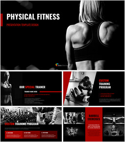 Physical Fitness Simple Google Slides Templates_00