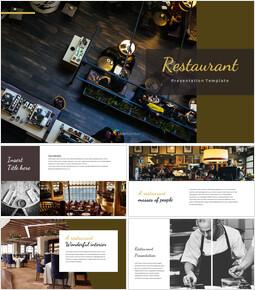 레스토랑 Google 슬라이드 테마 & 템플릿_00