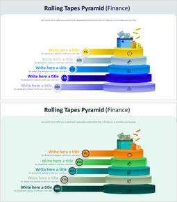 Rolling Tapes Pyramid Diagram (Finance)_00