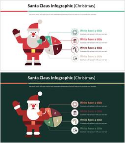 산타 클로스 Infographic 다이어그램 (크리스마스)_00