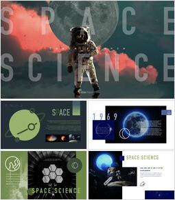 Space Science Keynote PowerPoint_41 slides