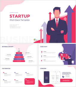 Startup Visually Focused Template Google PowerPoint Presentation_16 slides
