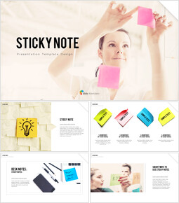 Sticky Note Best Business PowerPoint Templates_00