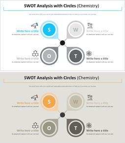 원 다이어그램을 사용한 SWOT 분석 (화학)_00